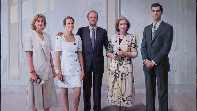 La familia real de Antonio López