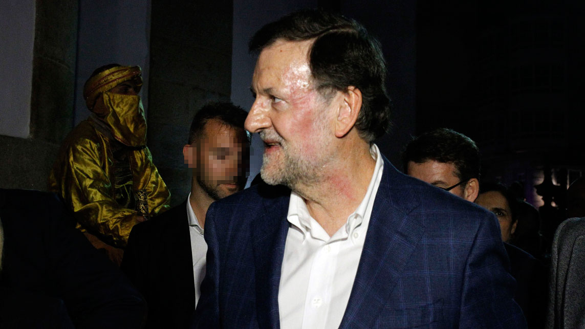 Los posibles pactos de gobierno vuelven a una campa�a empa�ada por la agresi�n a Rajoy