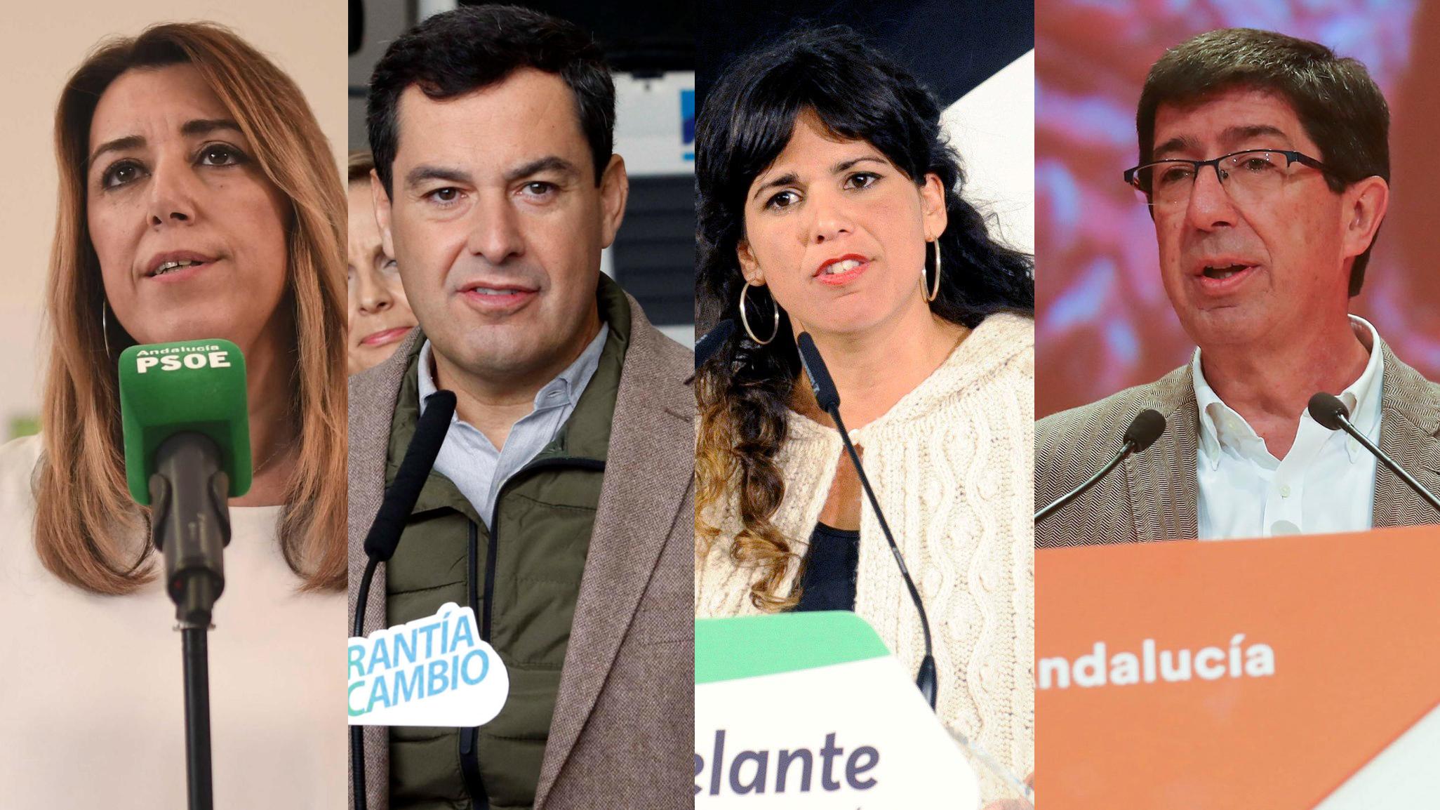 Cataluña, arma arrojadiza en la campaña andaluza