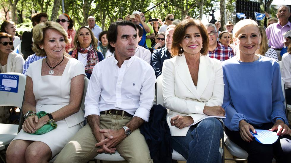 Aznar ataca a Podemos por querer