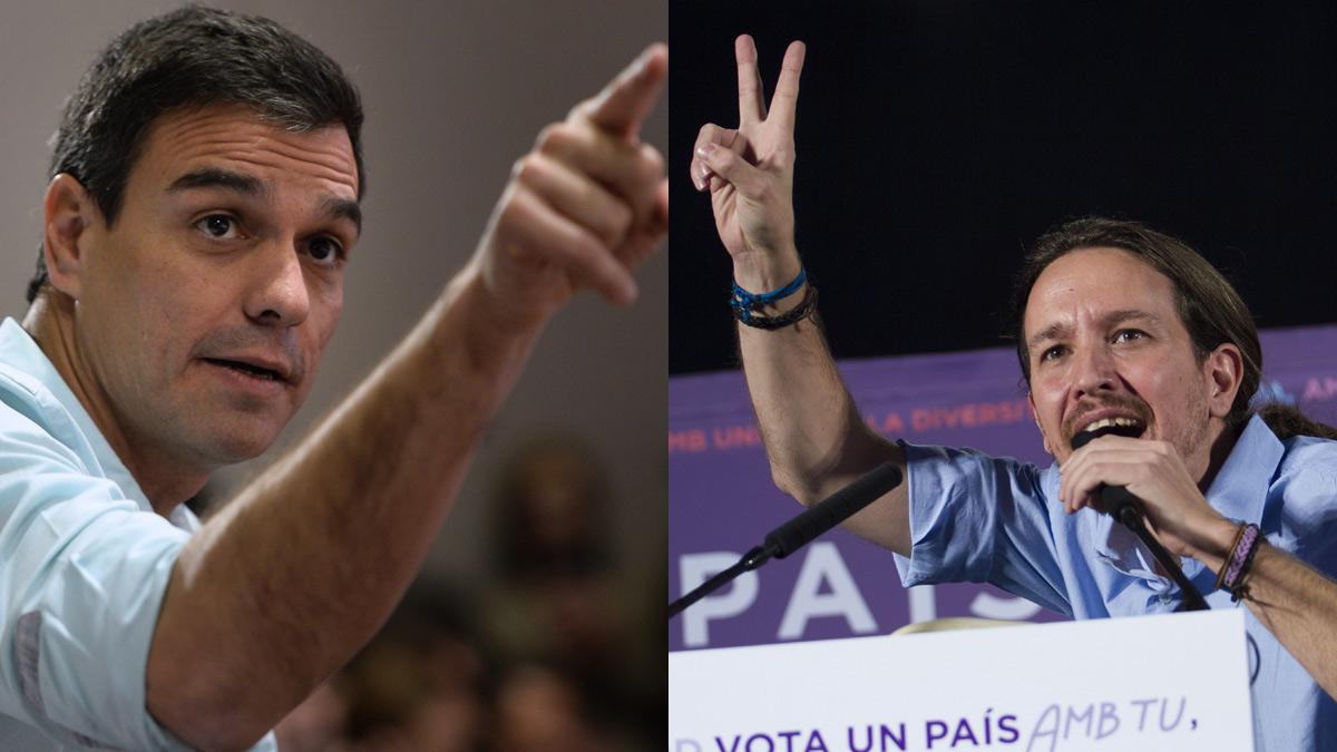 PSOE y Podemos abren una guerra por el voto de la izquierda y Rajoy da por acabado el liderazgo de S�nchez