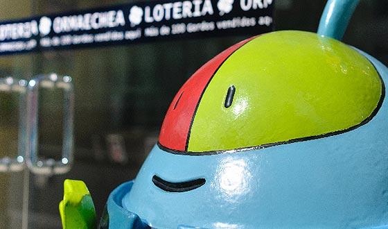 El escarabajo de la suerte de Loterías Ormaechea