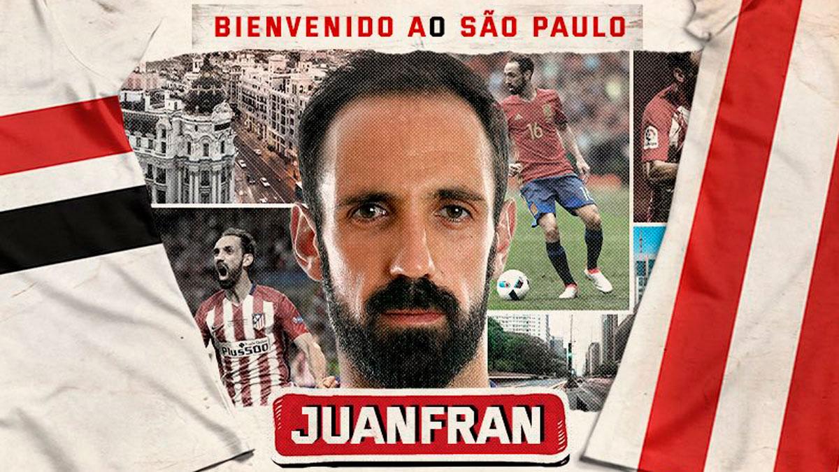 Imagen destacada del Juanfran, al Sao Paulo y Junior, muy cerca del Barça