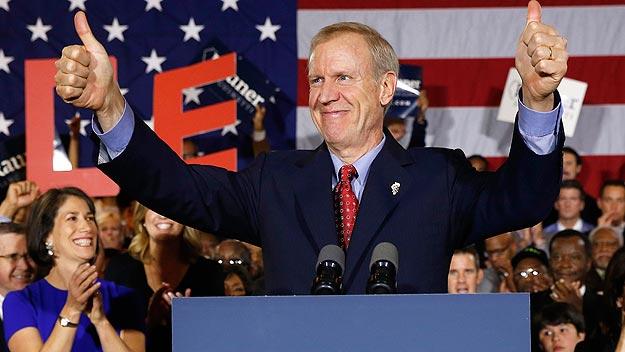 Bruce Rauner, nuevo gobernador republicano de Illinois. Foto: REUTERS/Jim Young