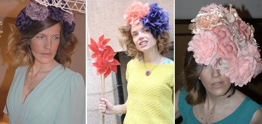 Modelos de tocados de Rita Von