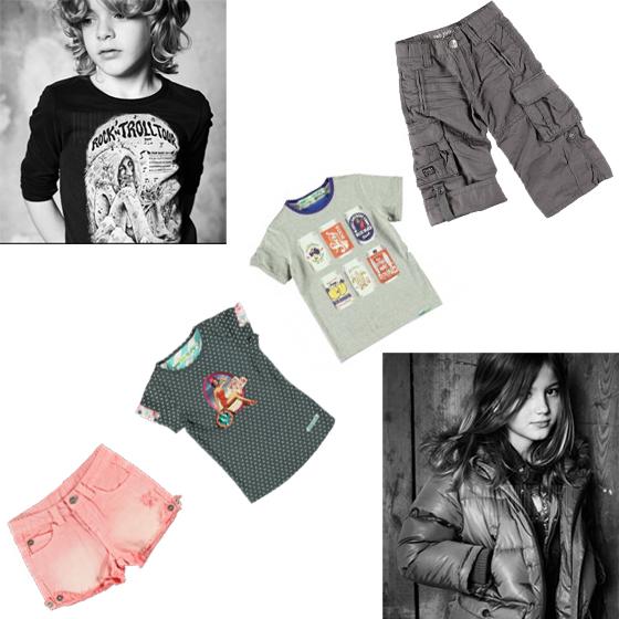 Moda Rock and Roll infantil