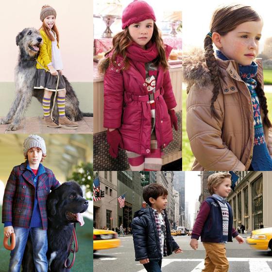 Benetton y Mayoral moda infantil
