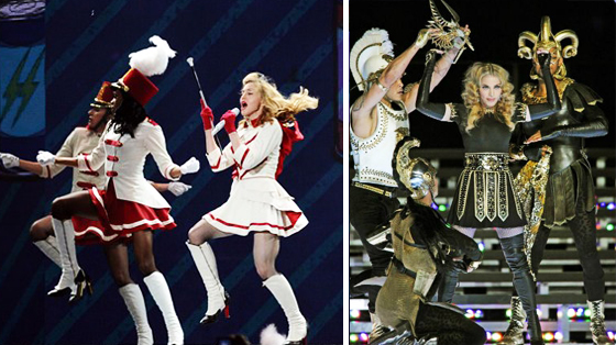 Madonna en su última gira.