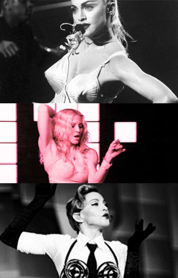 Madonna precursora del corsé