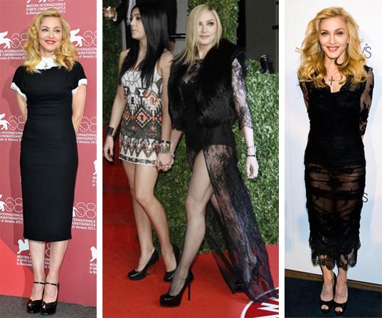Madonna una enamorada del black
