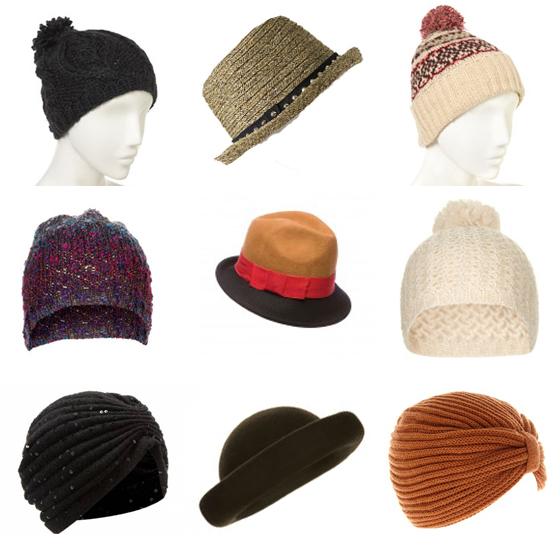 Gorros, sombreros y turbantes para este otoño