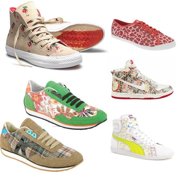 zapatillas con estampado