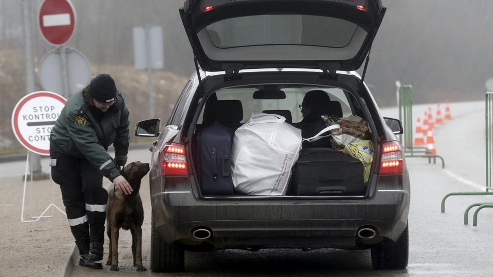Frontera entre Letonia y Rusia