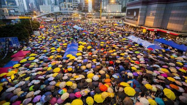 La 'revolución de los paraguas'