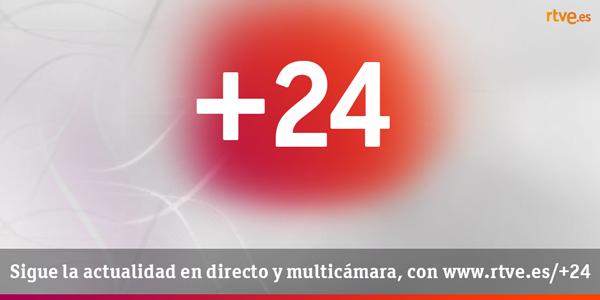 Estoy viendo #Más24 en directo con la multicámara de @24h_tve