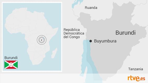 Burundi. Dos ministros amenazan con cerrar una radio en Burundi por informar de las protestas. Mapa_burundi_570