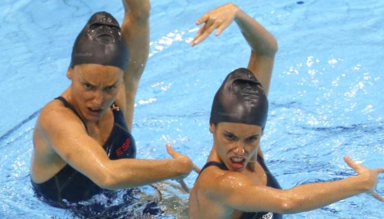 londres 2012 natacion sincronizada