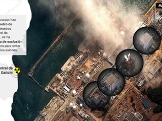 Mapa interactivo emergencia nuclear en Japón
