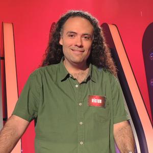 Uno de los concursantes que se ha llevado un premio mayor de Saber y Ganar Victor Castro, dice que se apuntó al concurso