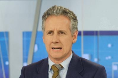 Lorenzo Milá presenta el Telediario 2