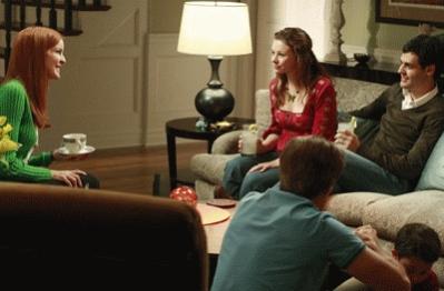 Bree de visita en casa de su hija Danielle
