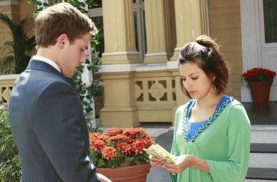 Gaby con Andrew, el hijo de Bree