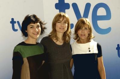 Naomí Redondo, Eva Cebrián y Carmen Domínguez