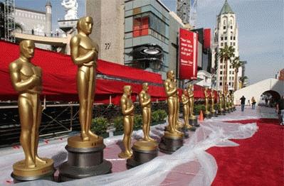 La alfombra roja de la noche de los Oscar