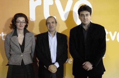 Maite Pagazaurtundua, Luis Fernández y José María Sánchez-Verdú