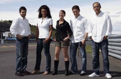 Marc, Desirée, Ainhoa, Miguel y Ernest