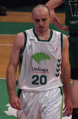 Carlos Jiménez es uno de los pilares del Unicaja