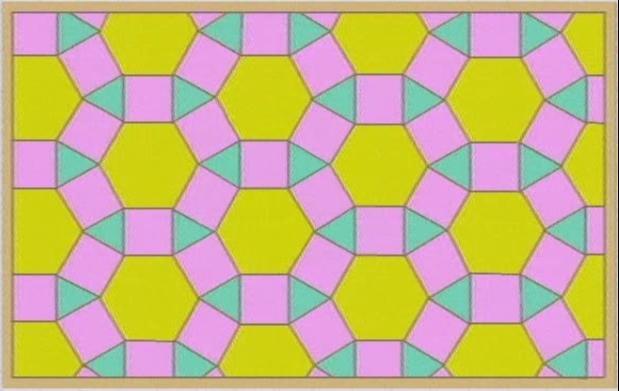 Pin mosaicos regulares semirregulares genuardis portal on - Mosaicos de colores ...